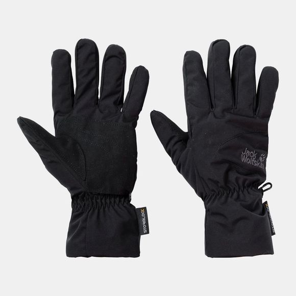 Jack Wolfskin Mens Stormlock HighLoft Gloves Black