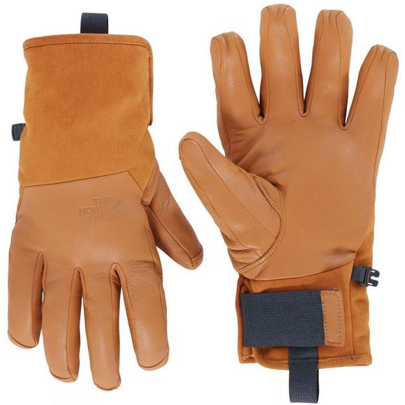 The North Face Mens Leather Il Solo Glove Timber Tan