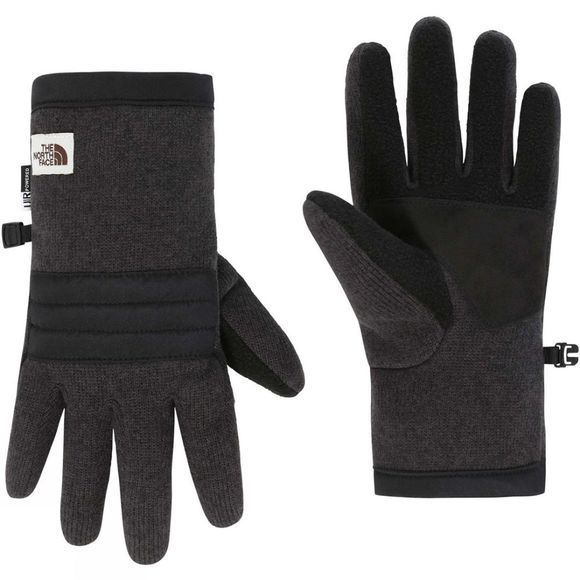 The North Face Mens Gordon Etip Glove TNF Black Heather
