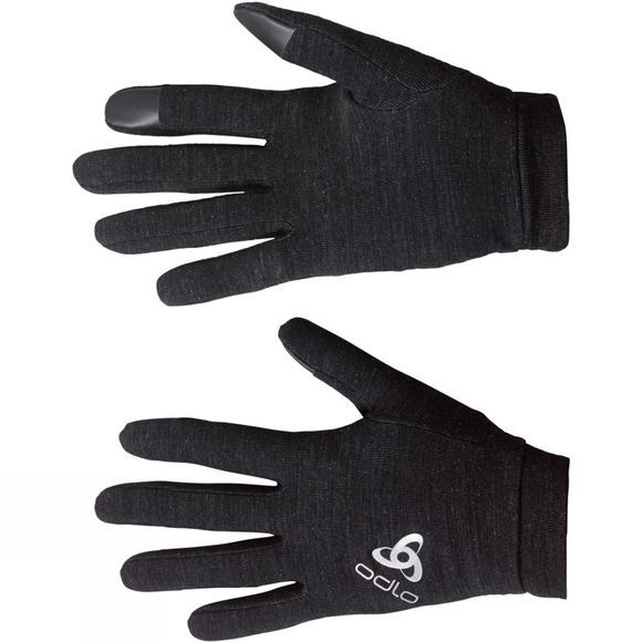 Odlo Natural+ Warm Gloves Black