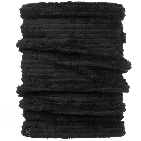 Buff Thermal Neckwarmer Buff Solid Graphite Black