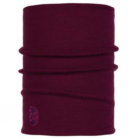 Buff Heavyweight Merino Buff Solid Purple Raspberry
