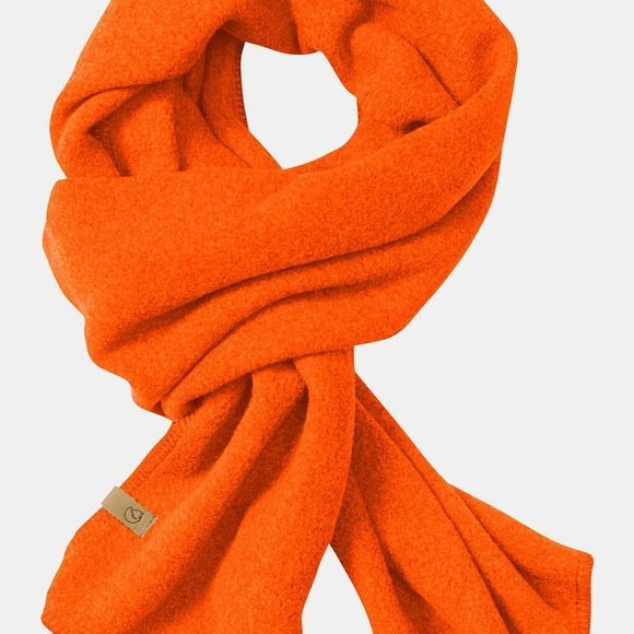 Fjallraven Lappland Fleece Scarf Safety Orange