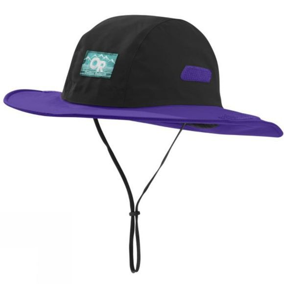 Outdoor Research Retro Seattle Sombrero BLACK/PURPLE RAIN