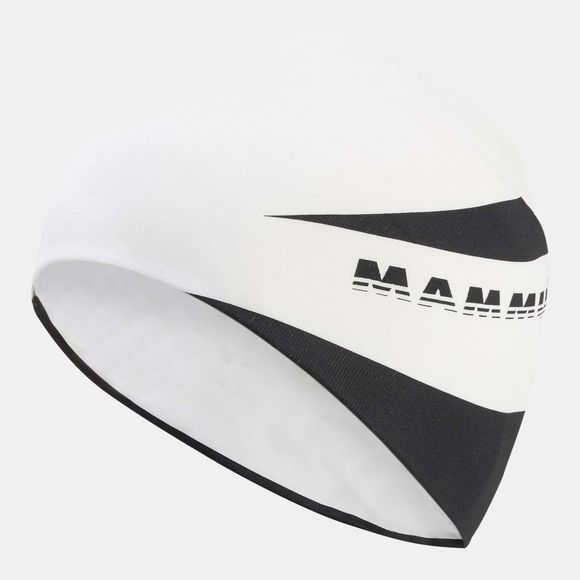 Mammut Womens Sertig Headband White/Black