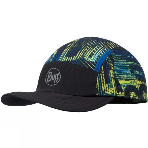 Buff Mens Run Cap R-Effect Logo Multi