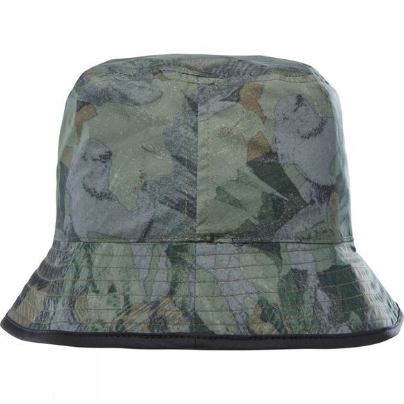 The North Face Sun Stash Hat TNF Black/ English Green Tropical Camo