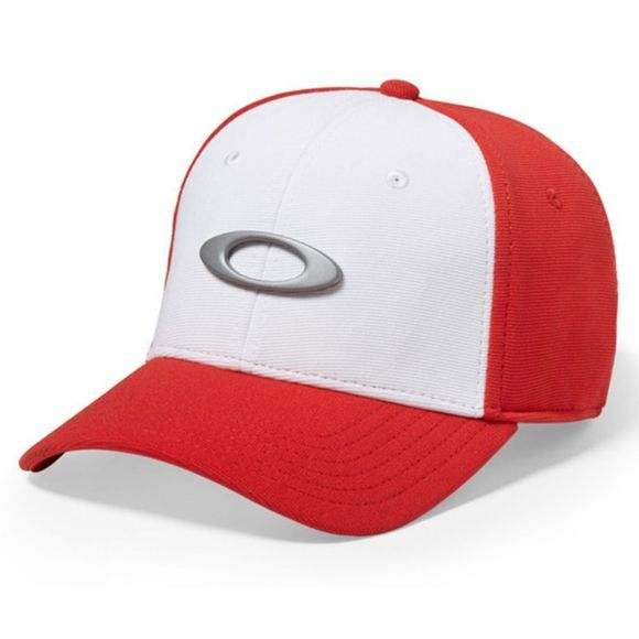 Oakley Tincan Cap White/Red