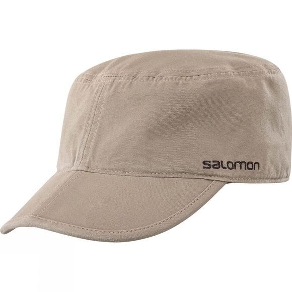 Salomon Mens Military Flex Cap Walnut