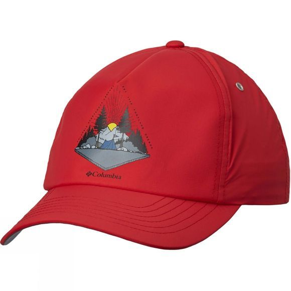 Columbia Washed Out Ball Hat Mountain Red