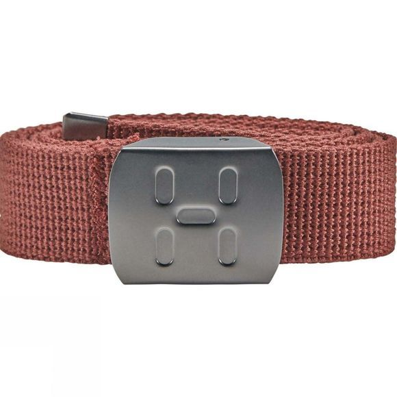Haglofs Mens Sajvva Belt Maroon Red