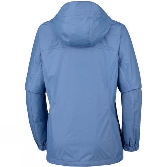 Columbia Womens Pouring Adventure Jacket Blue Dusk