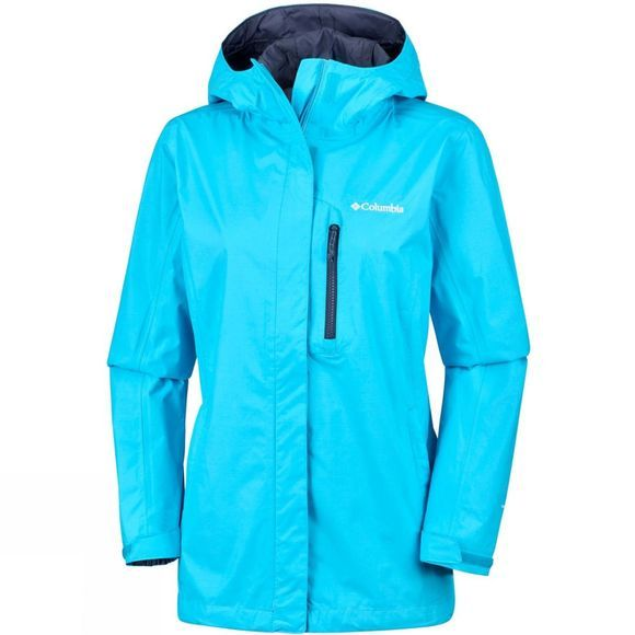 Columbia Womens Pouring Adventure Jacket Atoll/Nocturnal