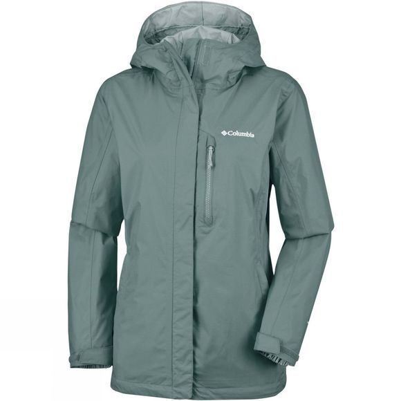 Columbia Womens Pouring Adventure Jacket Pond