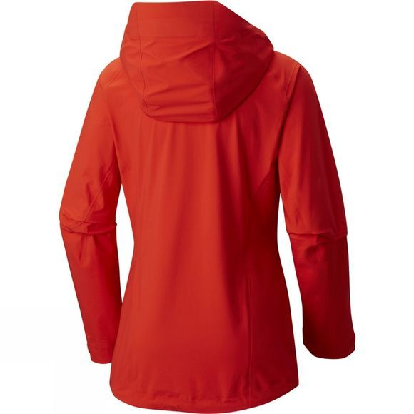 Mountain Hardwear Womens Superforma Jacket Fiery Red