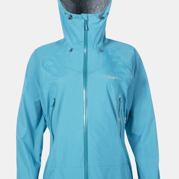 Rab Womens Downpour Plus Jacket Tasman