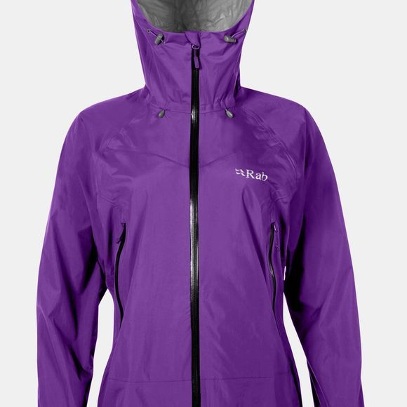 Rab Womens Downpour Plus Jacket Nightshade