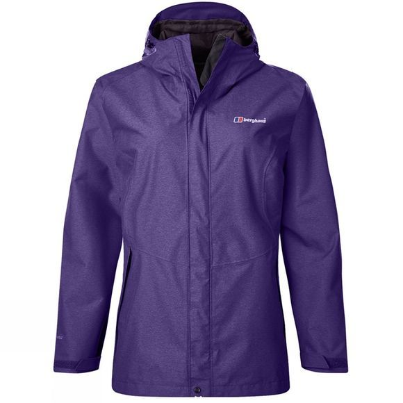 Berghaus Womens Elara Jacket Dark Tillandsia Purple Marl