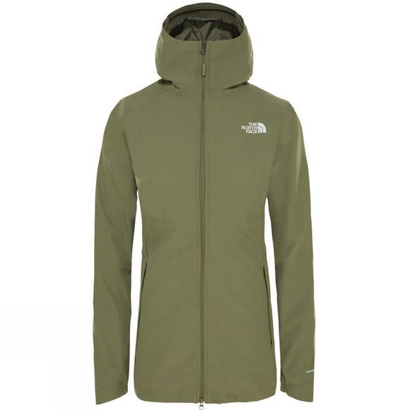 The North Face Womens Hikesteller Parka Shell Jacket Four Leaf Clover