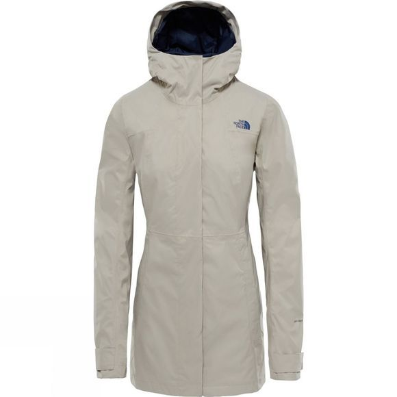 The North Face City Midi Trench Crockery Beige