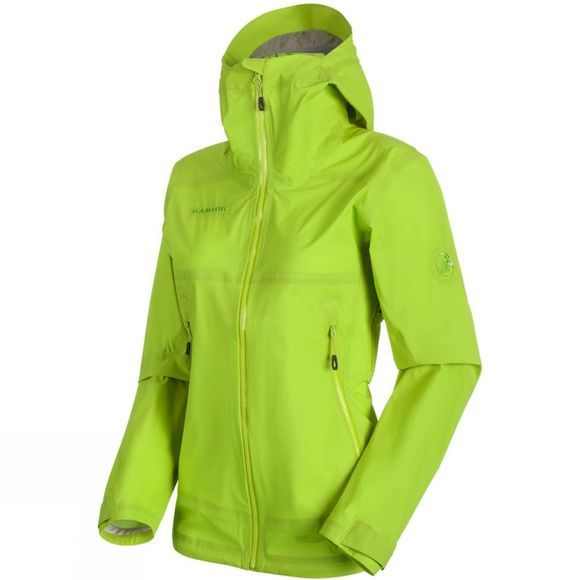 Mammut Womens Masao Light HS Hooded Jacket Sprout