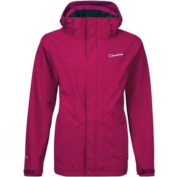 Berghaus Womens Hillwalker Jacket Beet Red