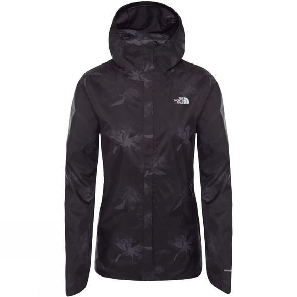 The North Face Womens Quest Print Jacket Vanadis Grey Flower