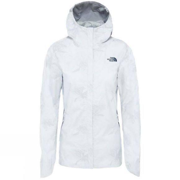 The North Face Womens Quest Print Jacket TNF White Flower Print