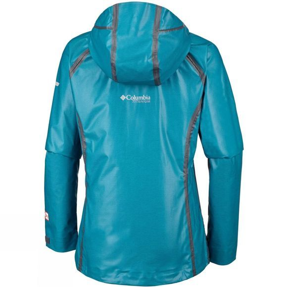 Columbia Womens Outdry Ex Reign Jacket Siberia Heather