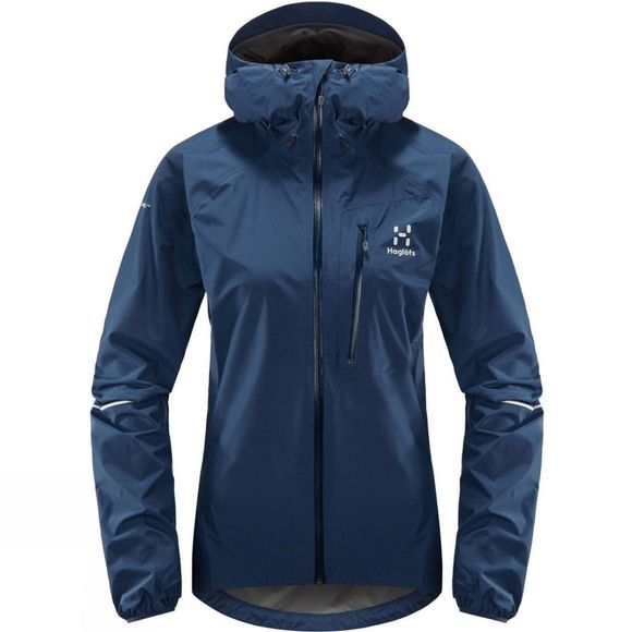 Haglofs Womens L.I.M Jacket Tarn Blue