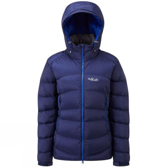 Rab Women's Ascent Jacket Blueprint / Celestial