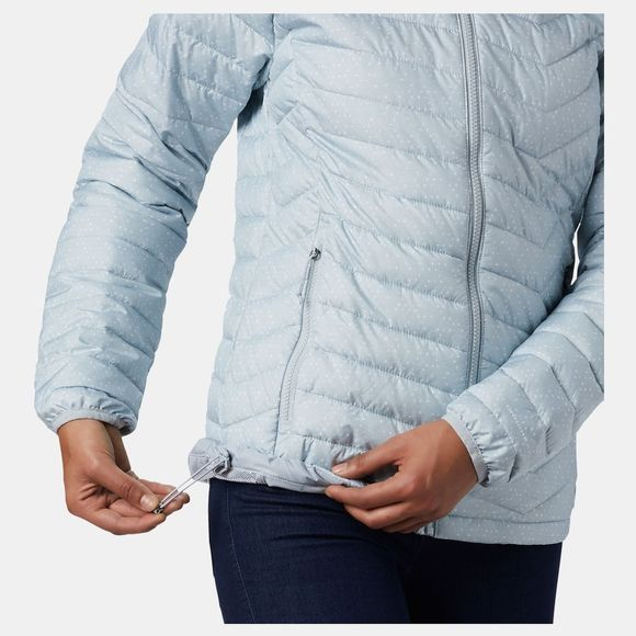 Columbia Womens Powder Lite Jacket Cirrus Grey Sparkler