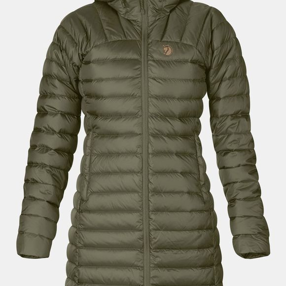 Fjallraven Women's Snow Flake Parka Laurel Green