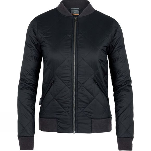Icebreaker Womens Venturous Jacket Twill Black