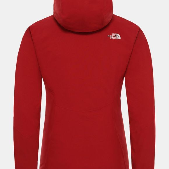 The North Face Womens Inlux Insulated Jacket Cardinal Red
