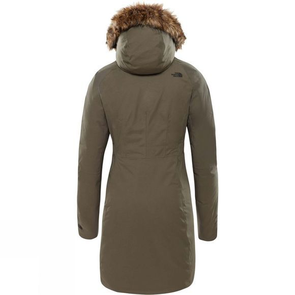 The North Face Womens Arctic II Parka New Taupe Green