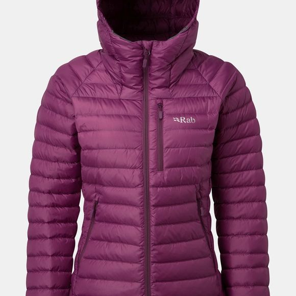 Rab Womens Microlight Alpine Jacket Violet