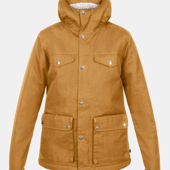 Fjallraven Womens Greenland Winter Jacket Acorn