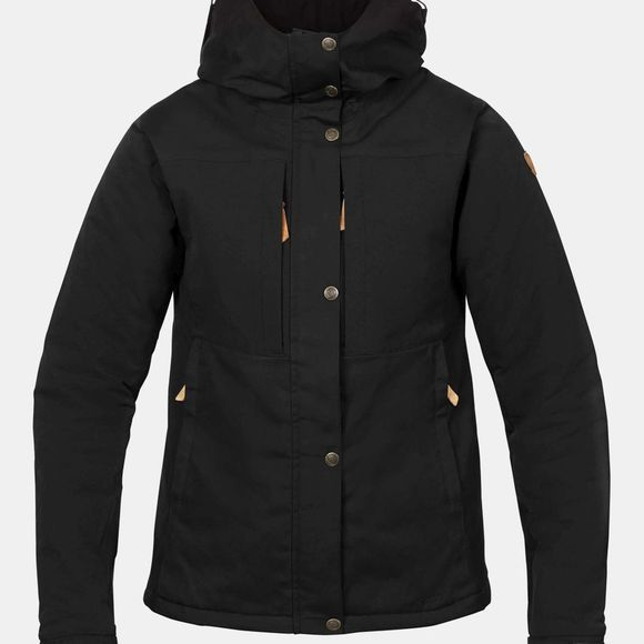 Fjallraven Women's Övik Stretch Padded Jacket  Black