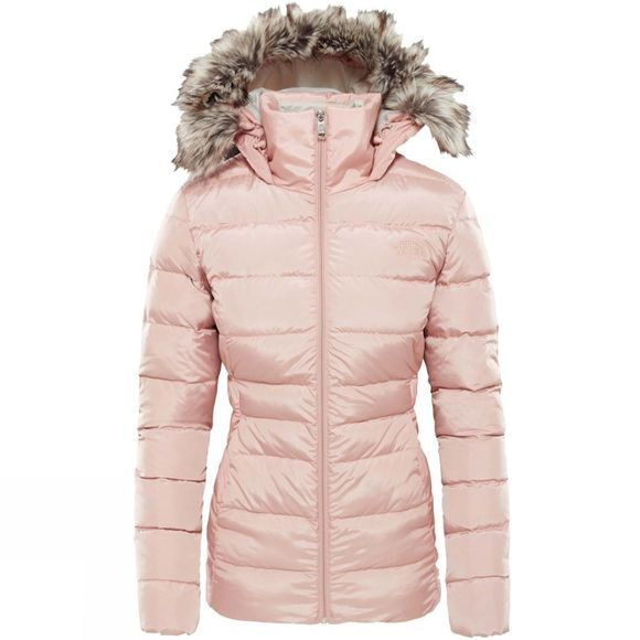 The North Face Womens Gotham Jacket II Misty Rose