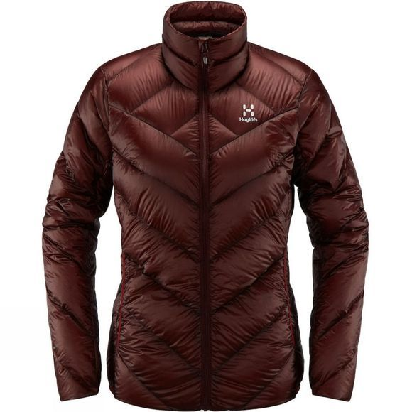 Haglofs Womens L.I.M. Essens Jacket Maroon red
