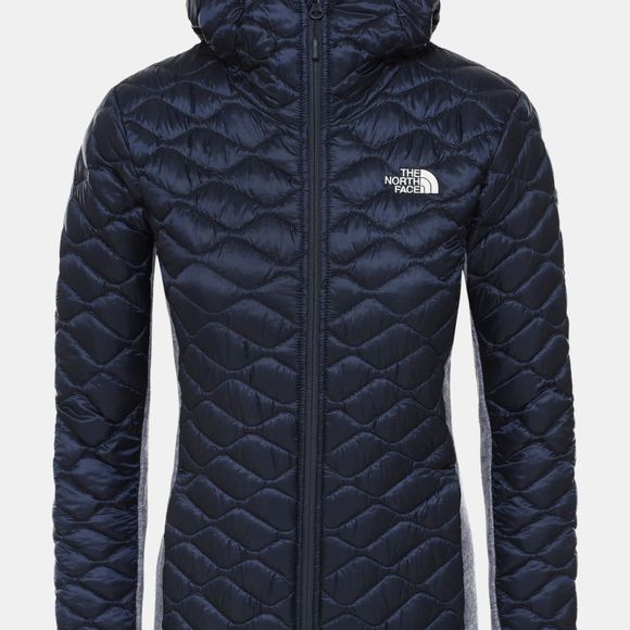 The North Face Womens Inlux Wool Hybrid Jacket Urban Navy