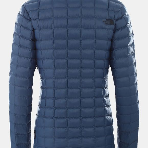 The North Face Womens Thermoball Eco Packable Jacket Blue Wing Teal Matte