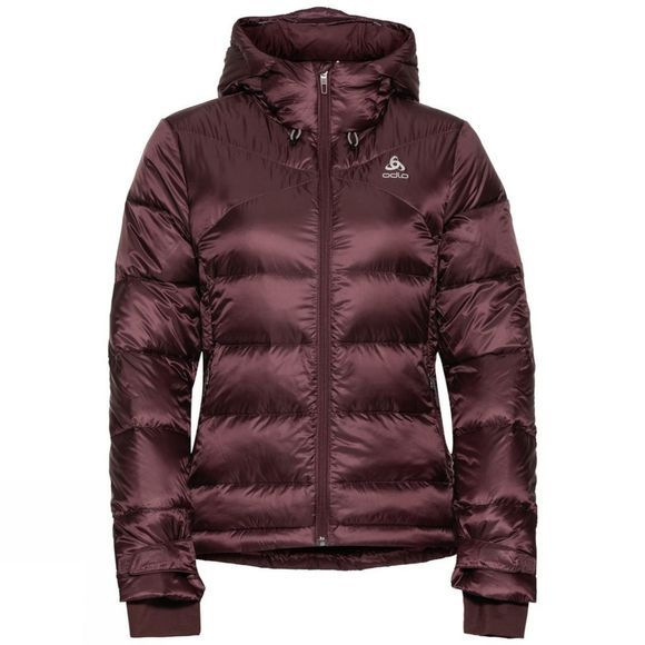Odlo Womens Cocoon N-Thermic X-Warm Insulated Jacket Decadent Chocolate