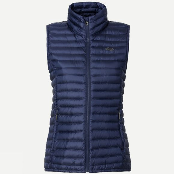 KJUS Women's Cypress Down Vest Atlanta Blue