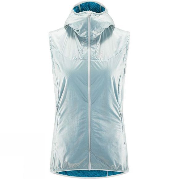 Haglofs Womens Aran (Valley) Vest Haze  /  Mosaic Blue