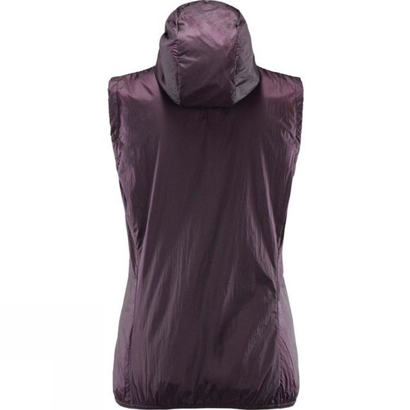Haglofs Womens Aran (Valley) Vest Acai Berry