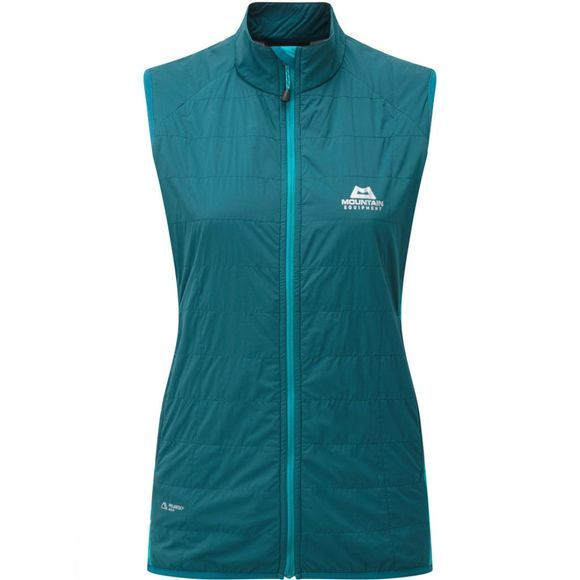 Mountain Equipment Womens Switch Vest Legion/Pool Blue