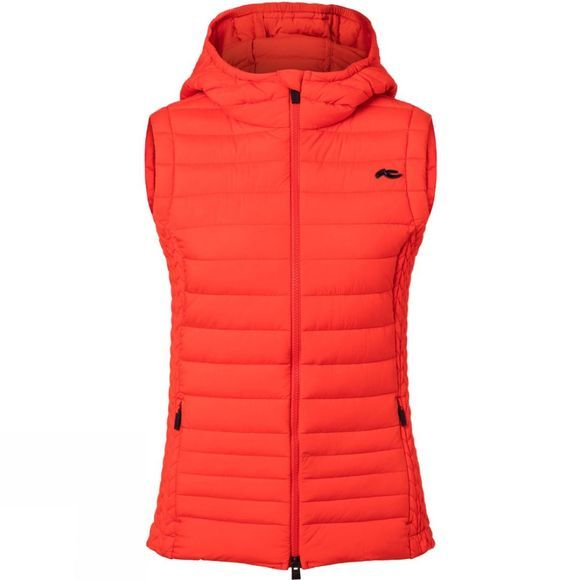 KJUS Women Macuna Insulation Vest Fiery Red