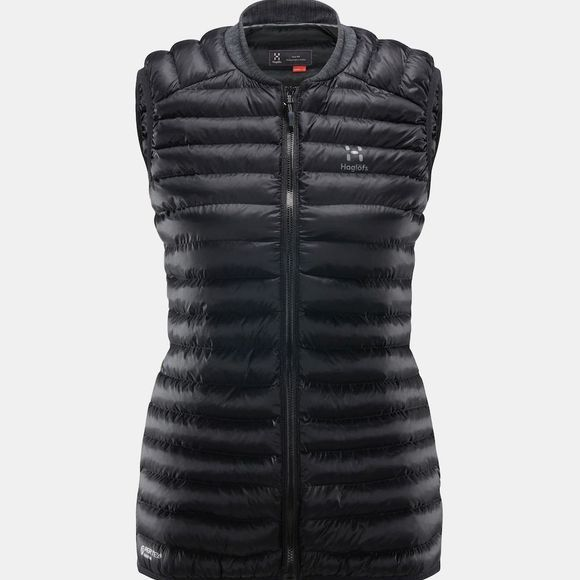 Haglofs Womens Essens Mimic Vest True Black / Magnetite